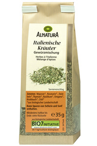 Alnatura Bio Italienische Kräuter Gewürzmischung 35 g
