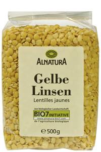 Alnatura Bio Gelbe Linsen 500 g