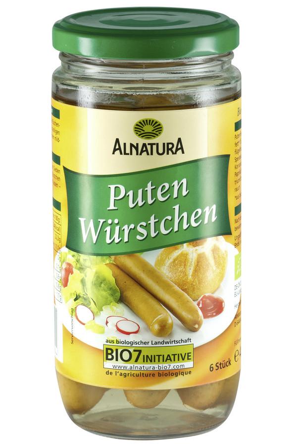 Alnatura Bio Puten Würstchen 400 g