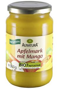 Alnatura Bio Apfelmark mit Mango 360 g
