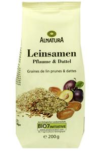 Alnatura Bio Leinsamen Pflaume & Dattel 200 g