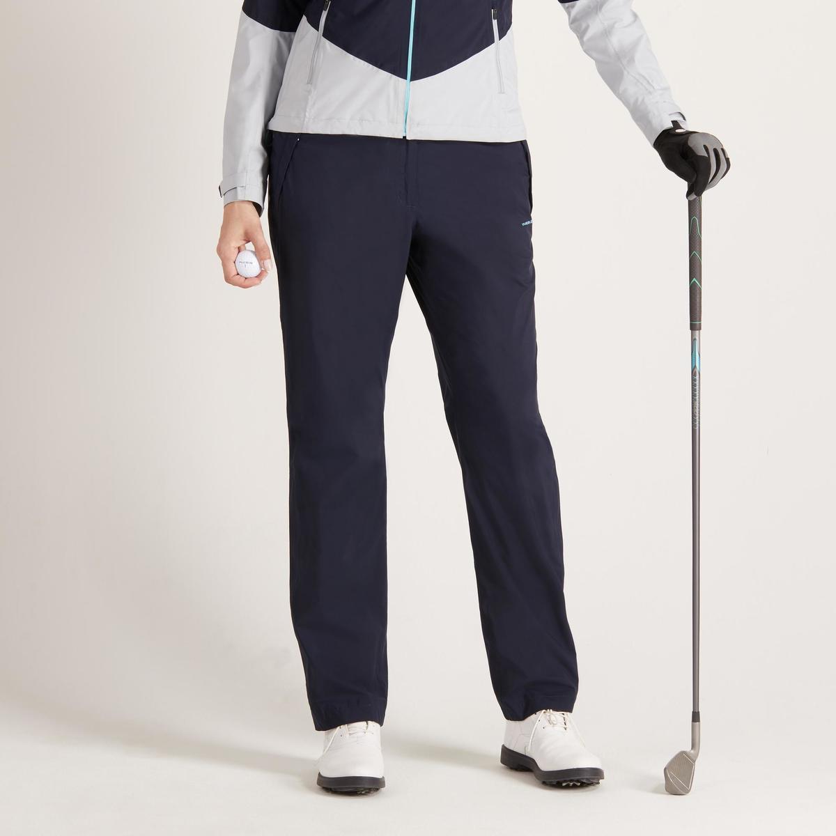 Bild 2 von Golf Regenhose 900 Damen marineblau wasserdicht