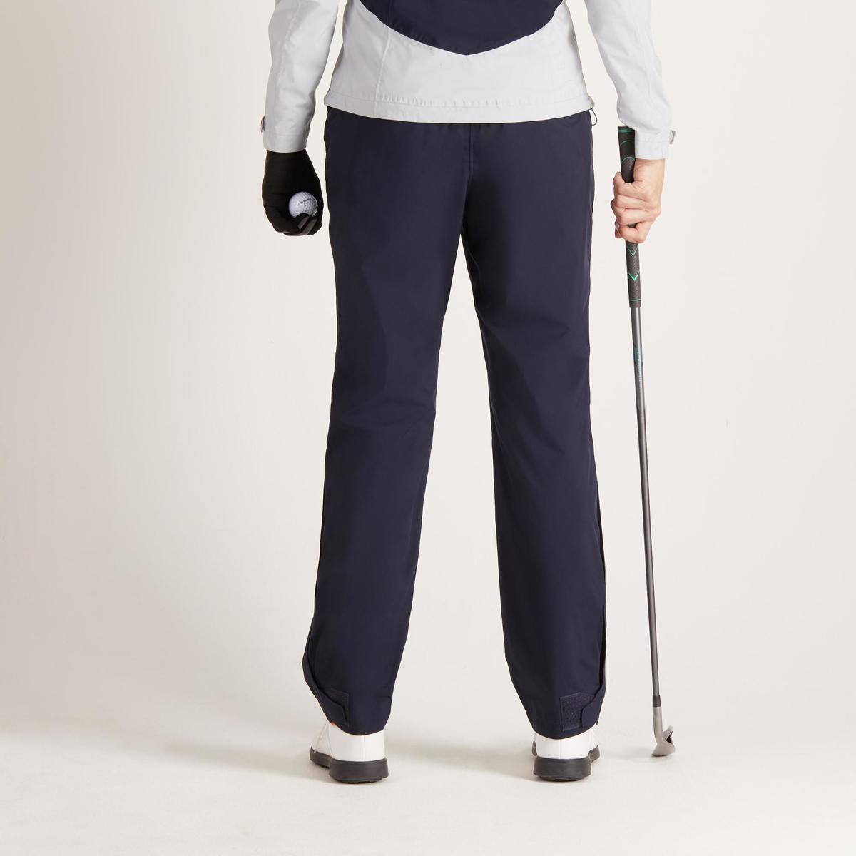 Bild 4 von Golf Regenhose 900 Damen marineblau wasserdicht