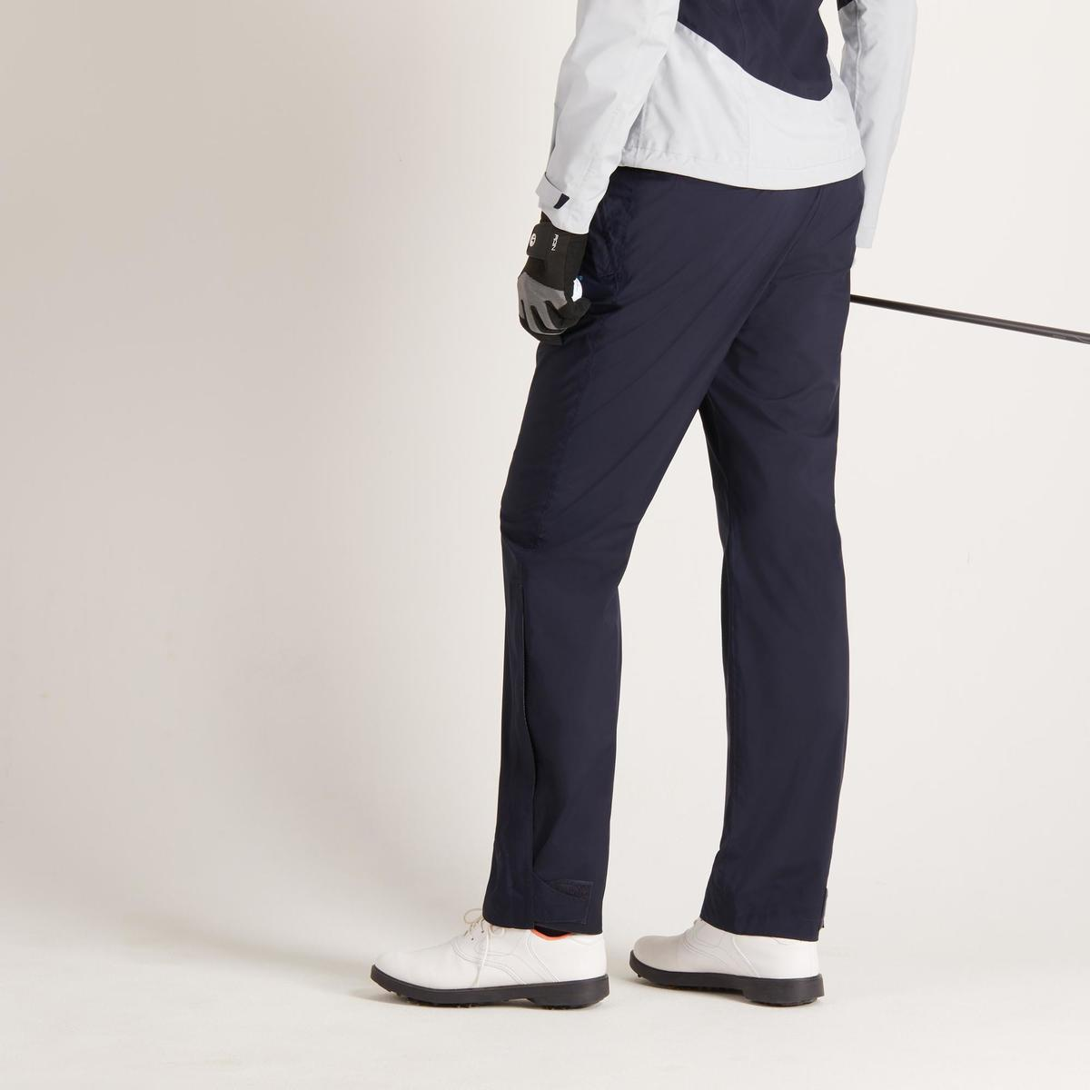 Bild 5 von Golf Regenhose 900 Damen marineblau wasserdicht