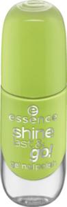essence cosmetics Nagellack shine last & go! gel nail polish grün 47
