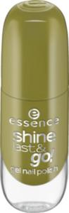 essence cosmetics Nagellack shine last & go! gel nail polish grün 50