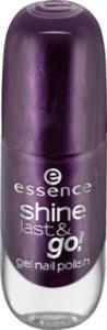 essence cosmetics Nagellack shine last & go! gel nail polish violett 25
