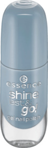 essence cosmetics Nagellack shine last & go! gel nail polish blau 29