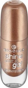 essence cosmetics Nagellack shine last & go! gel nail polish gold 40