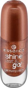 essence cosmetics Nagellack shine last & go! gel nail polish braun 41