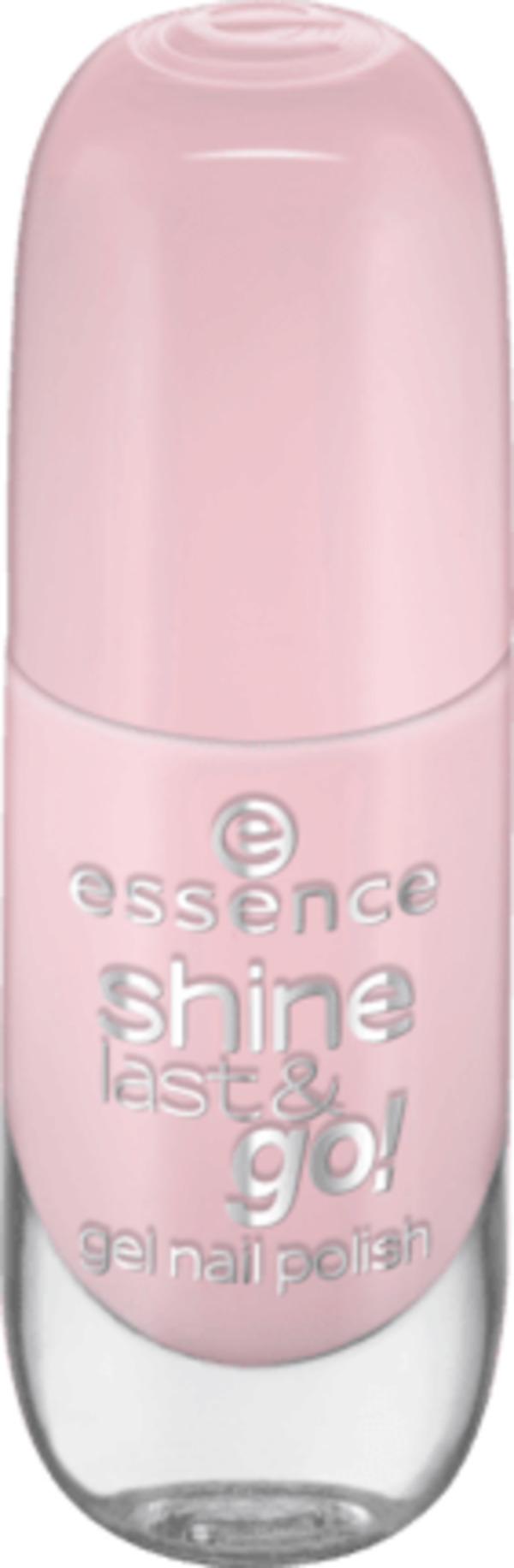 essence cosmetics Nagellack shine last & go! gel nail polish nude 05