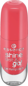 essence cosmetics Nagellack shine last & go! gel nail polish rot 17