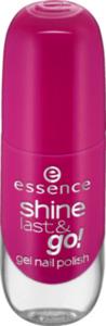 essence cosmetics Nagellack shine last & go! gel nail polish violett 21