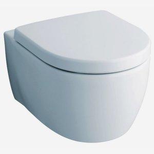 WC-Set 'iCon' inkl. Tiefspüler-Wand-WC und WC-Sitz