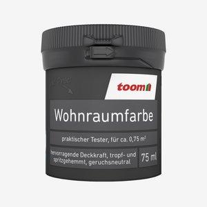 toomEigenmarken -              toom Wohnraumfarbe Schwarz matt 75 ml