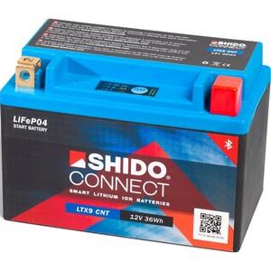 Shido            Lithium Batterie Connect LIX30Q, 12V, 8Ah, (HVT2/YIX30L/-BS/