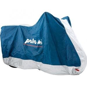 Polo            Outdoor Abdeckplane ST05 blau/silber Größe XL =285/155/100cm