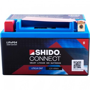 Shido            Lithium Batterie Connect LTX14-BS, 12V, 4Ah (YTX14H-BS)