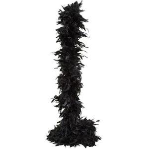 Orlob Federboa, schwarz
