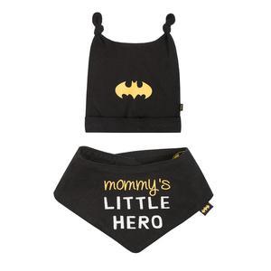 Baby Set Mütze und Dreieckstuch Batman