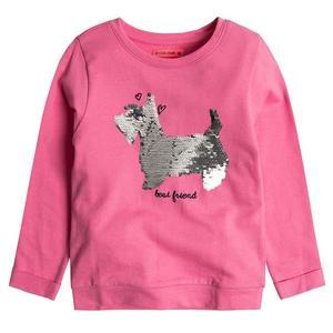 Sweatshirt mit Wende-Pailletten für Mädchen