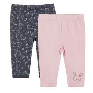Baby Leggings 2er Pack für Mädchen