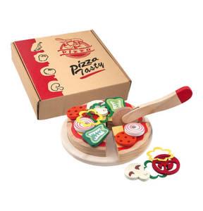 Happy People             Pizza aus Holz