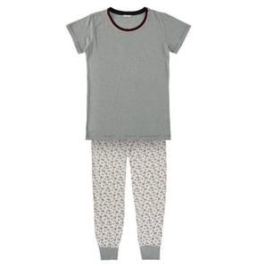 ESPRIT             Schlafanzug, 2-tlg Set, Kurzarm, Baumwolle, für Mädchen