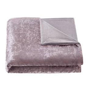 GALERIA SELECTION             Wende-Samt-Wohndecke, Vorder- und Rückseite 100 % Polyester, flauschig