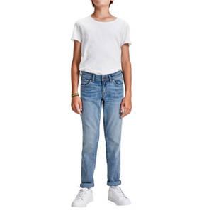 JACK & JONES             Jeans, Slim-Fit, unifarben, für Jungen