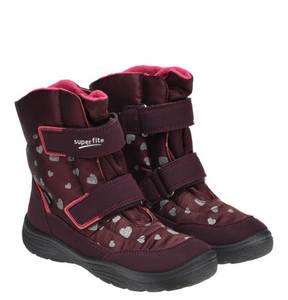 Superfit             Boots, Goretex, Herzen, Klettverschluss, für Mädchen