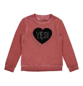manguun teens             Sweatshirt, Wendepailletten, für Kinder