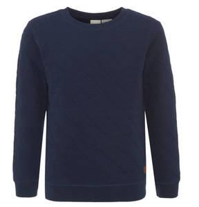 manguun teens             Sweatshirt, Baumwolle, Rautensteppung, für Jungen