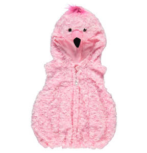 Crazy Days             Kostüm, Flamingo, Reißverschluss, für Babys