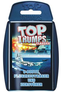 Top Trumps U-Boote, Flugzeugträger, Zerstörer