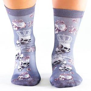 Wigglesteps Damen Socken Crown