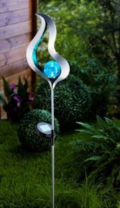 "Solar-Gartenstecker ""Blue Flame"""
