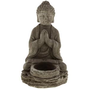 Buddha mit Teelichthalter