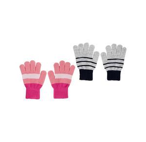 Kinder-Handschuhe mit tollem Streifenmuster
