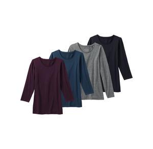 Laura Torelli COLLECTION Damen-Shirt in schicker Herbstfarbe