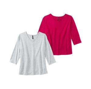 Laura Torelli COLLECTION Damen-Shirt in legerer Passform