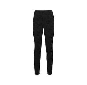 Laura Torelli COLLECTION Damen-Leggings mit Jacquard-Muster