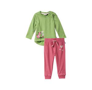 Liegelind Baby-Mädchen-Set mit süßem Aufdruck, 2-teilig