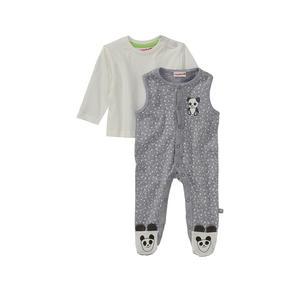 Liegelind Baby-Strampler-Set mit Panda-Motiven, 2-teilig