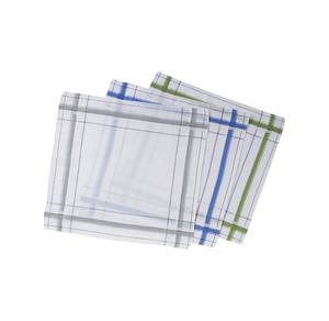 Home Herren-Taschentuch, ca. 39,5x39,5cm, 3er Pack