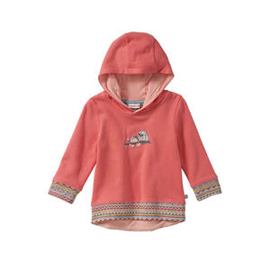 Liegelind Baby-Mädchen-Sweatshirt mit Vogel-Frontaufdruck