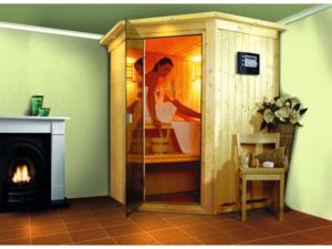 """Karibu              Plug & Play Sauna """"Nanja"""""""