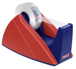 Tesa Easy Cut Tischabroller Rot-Blau Blau, Rot