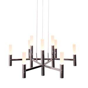 home24 LED-Kronleuchter Candle