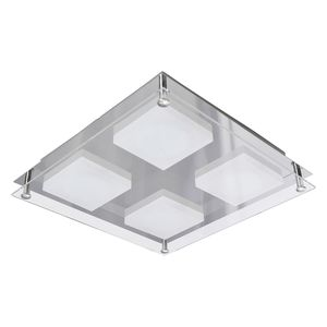 home24 LED-Deckenleuchte Square Shine II